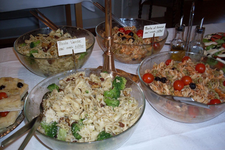 Catering - buffé och varmrätter
