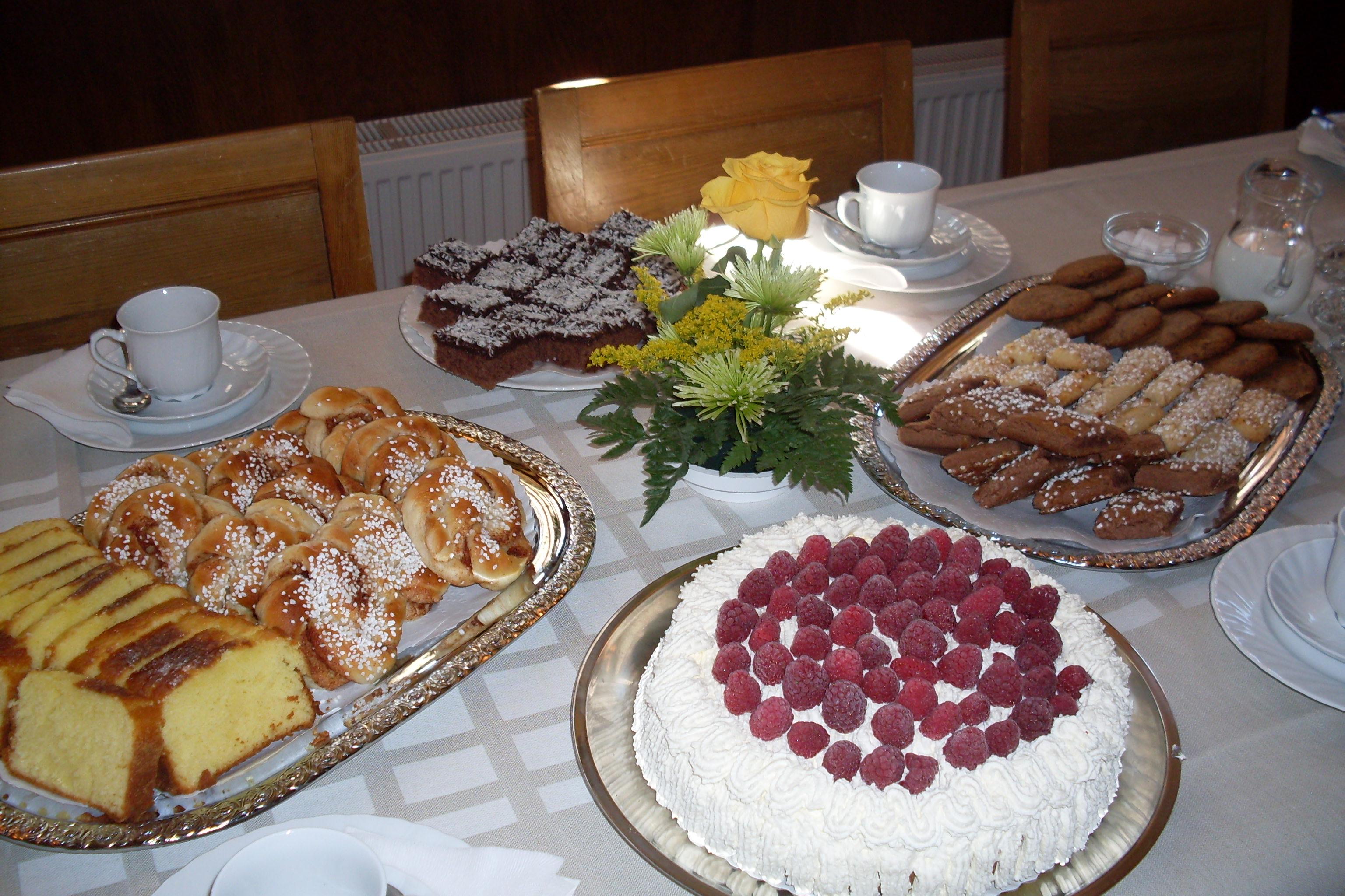 Bild på catering, lättare förtäring